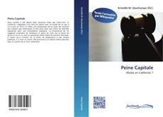 Bookcover of Peine Capitale