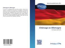 Chômage en Allemagne kitap kapağı