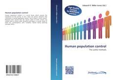Human population control的封面