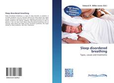Sleep disordered breathing kitap kapağı