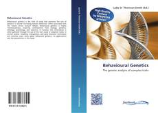 Bookcover of Behavioural Genetics