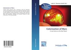 Bookcover of Colonization of Mars