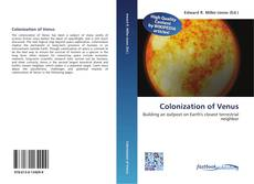 Couverture de Colonization of Venus