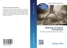 Bookcover of Methods of Capital Punishment
