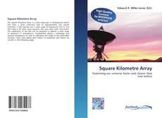Square Kilometre Array kitap kapağı