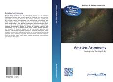 Bookcover of Amateur Astronomy