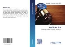 Bookcover of Antitrust law
