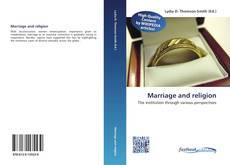 Buchcover von Marriage and religion