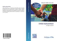 Bookcover of Child malnutrition