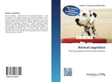 Обложка Animal cognition
