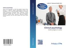 Bookcover of Clinical psychology