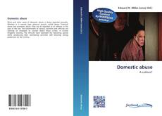 Capa do livro de Domestic abuse