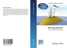 Borítókép a  Missing persons - hoz
