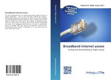 Bookcover of Broadband internet access