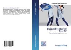 Dissociative identity disorder kitap kapağı