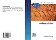 Bookcover of Land degradation