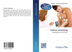 Bookcover of Cancer screening