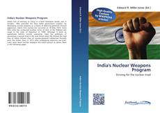 Bookcover of India's Nuclear Weapons Program