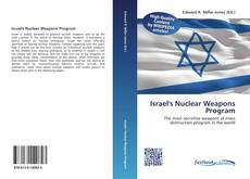 Bookcover of Israel's Nuclear Weapons Program