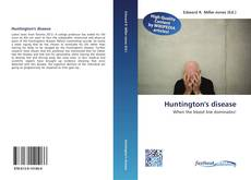 Bookcover of Huntington's disease
