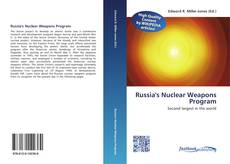Bookcover of Russia's  Nuclear Weapons Program