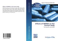Capa do livro de Effects of MDMA on the human body
