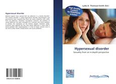 Bookcover of Hypersexual disorder