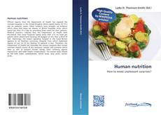 Bookcover of Human nutrition