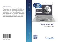 Bookcover of Computer security