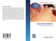 Bookcover of Ayurvedic medicine