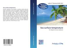 Bookcover of Sea surface temperature