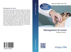 Bookcover of Management of cancer