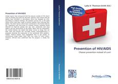 Couverture de Prevention of HIV/AIDS