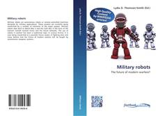 Bookcover of Military robots