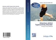 Attention deficit hyperactivity disorder kitap kapağı