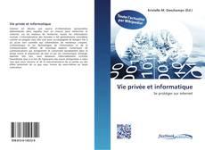 Bookcover of Vie privée et informatique