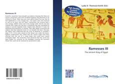 Bookcover of Ramesses III