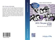 Bookcover of 2013: The year of the Snake