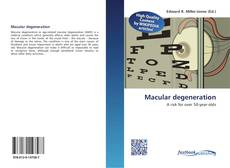 Bookcover of Macular degeneration