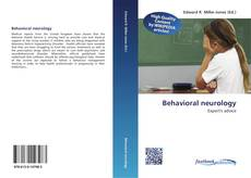 Bookcover of Behavioral neurology