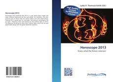 Bookcover of Horoscope 2013