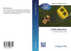 Portada del libro de Child abduction