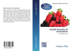 Обложка Health benefits of antioxidant