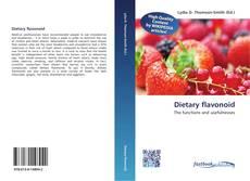 Dietary flavonoid kitap kapağı
