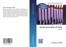 Portada del libro de Jewish principles of faith