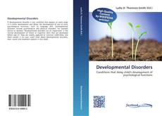 Bookcover of Developmental Disorders
