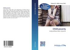 Bookcover of Child poverty
