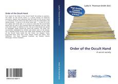 Bookcover of Order of the Occult Hand