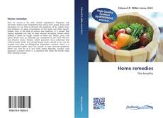 Bookcover of Home remedies