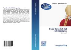 Bookcover of Pope Benedict XVI bibliography